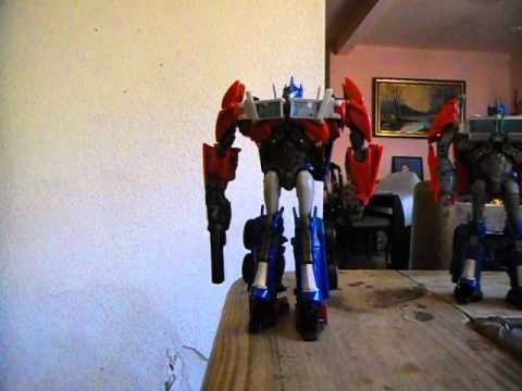 Transformers Prime First Edition Voyager Optimus Prime Review En Español Latino P.2