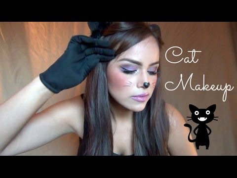 AlbaMayo: Cute Cat Halloween Makeup!  YouTube - Cute And Easy Halloween Makeup