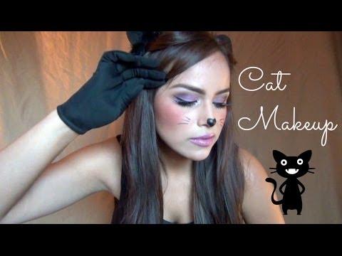 AlbaMayo: Cute Cat Halloween Makeup!  YouTube - Cute Face Makeup For Halloween