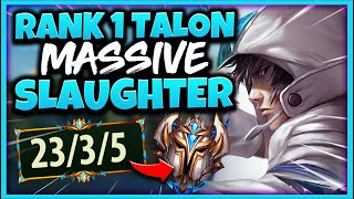 #1 TALON WORLD UNSTOPPABLE KILLING MACHINE (THEY NEVER LEARN) - League of Legends