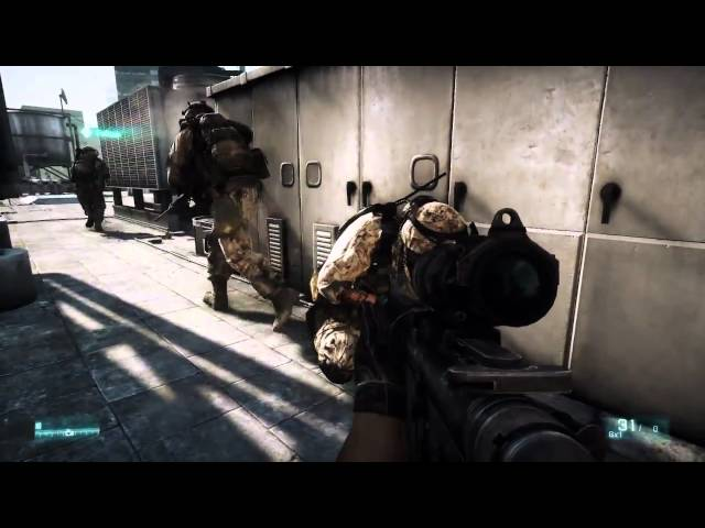 Battlefield 3 - Full Length 12mins Fault Line - Gameplay Trailer [HD]