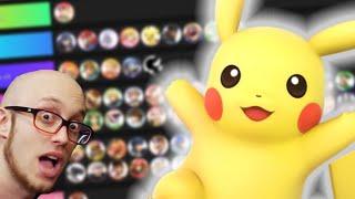 Smash Ultimate Pikachu Match-Up Chart  (BUSTED)