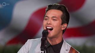 "Laine Hardy performs ""Johnny B. Goode"" at the 2019 A Capitol Fourth"