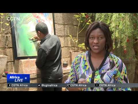 Art For Climate Change: Ethiopian Uses Art To Raise Awareness Of Global Warming