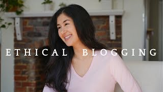 Blogger Transparency   How I Blog Ethically