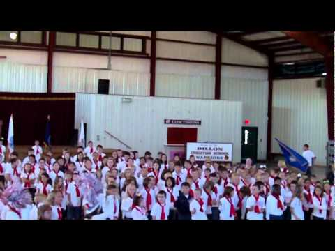Veteran's Day Program - Dillon Christian School, Part 1