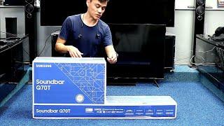 01. Samsung HW-Q70T Soundbar 2020 Unboxing, Setup and Demo
