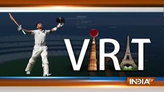 Virat Kohli Hits Double Century (204 Runs) in India vs Bangladesh, 1st Test Match