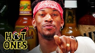 Jimmy Butler Goes Rocky Balboa on Spicy Wings | Hot Ones