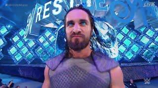Seth Rollins BAD ASS wrestlemania 34 entrance
