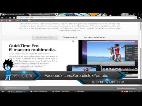 QuickTime Pro! Ultima Version Full W7|XP|Vista
