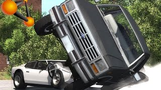 BeamNG.Drive Mod : Ford Ranger F150 1984 V8 (Crash test)