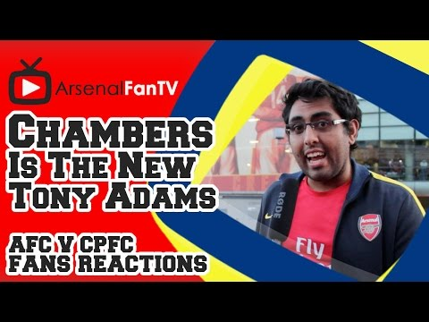 Calum Chambers Is The New Tony Adams - Arsenal 2 Crystal Palace 1
