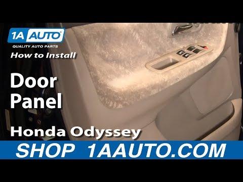 How To Install Remove Replace Door Panel Honda Odyssey 99-04 1AAuto.com