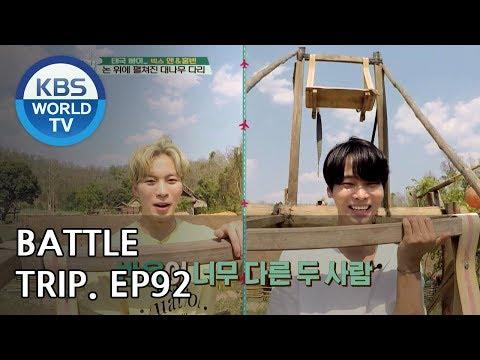 Battle Trip | 배틀트립 – Ep.92: Hongbin & N's trip to Pai, Thailand! [ENG/THA/2018.06.03]