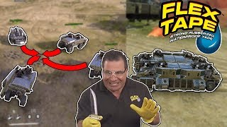 BEFORE AND AFTER FLEX TAPE