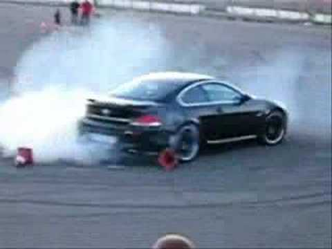 Bmw M6 Doing Donuts Video