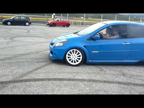 Renault Clio RS BurnOut