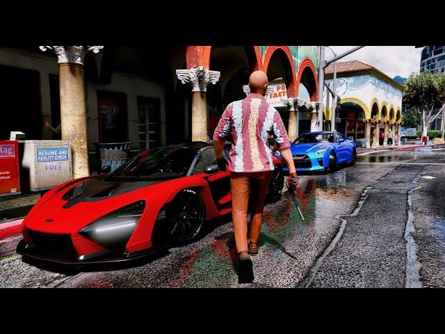 ►GTA 6 Graphics - BEST SUPERCARS GAMEPLAY! 60FPS
