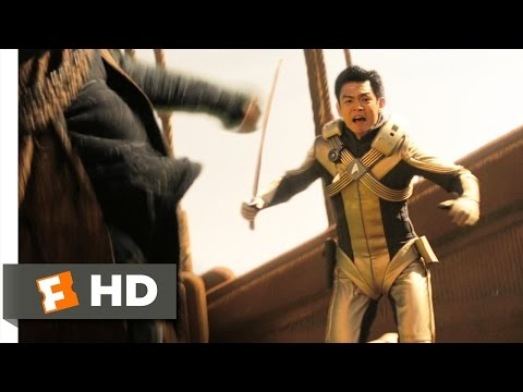 Star Trek (3/9) Movie CLIP - Drill Fight (2009) HD