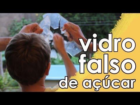 Vidro falso (de açúcar)