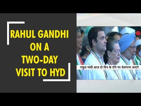Morning Breaking: Rahul Gandhi on a two-day visit to Hyderabad from today