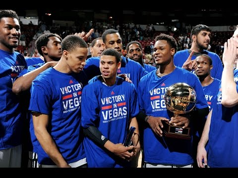 The Sacramento Kings win the 2014 Las Vegas NBA Summer League Championship!