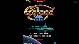 Galaga `88 Gameplay