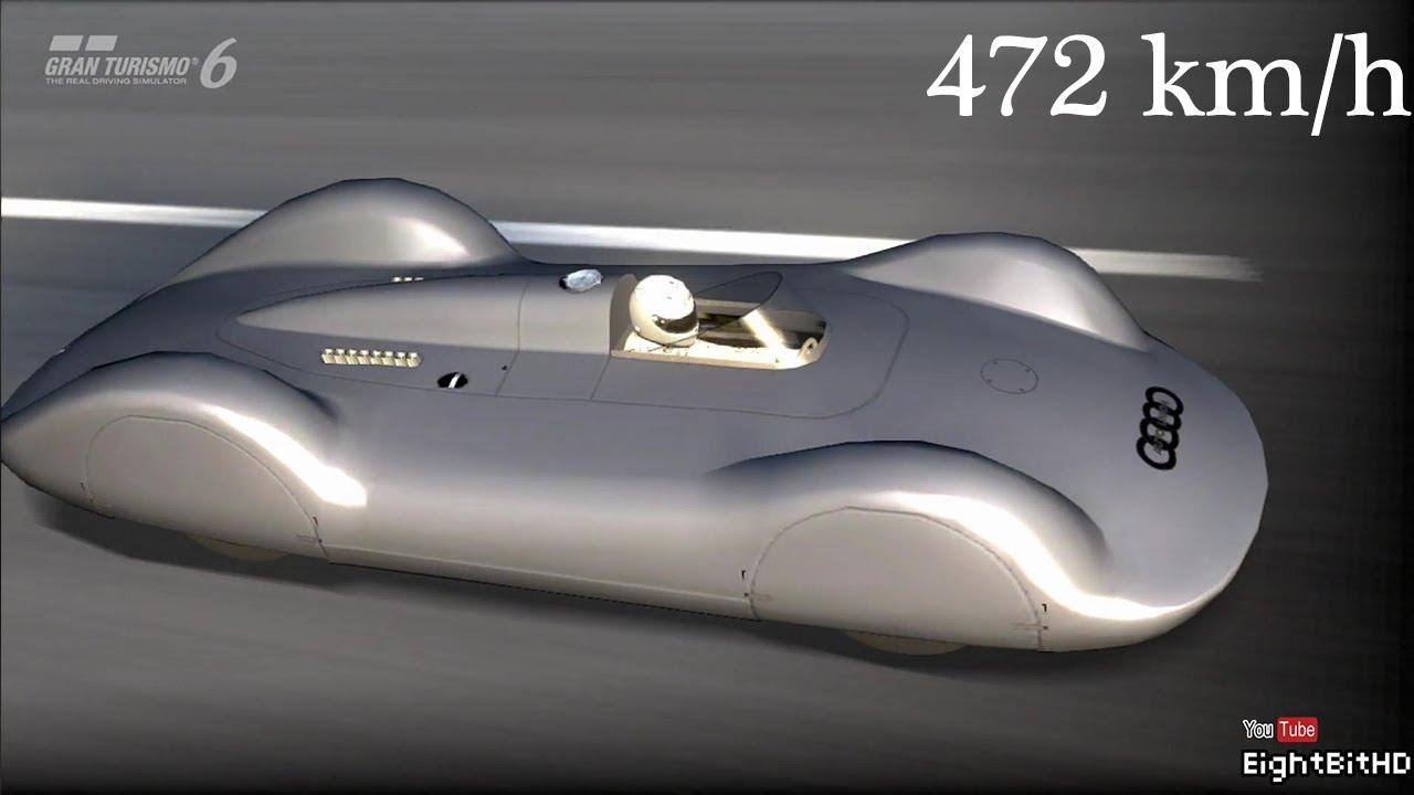 Gran Turismo 6 Audi Auto Union V16 Type C Streamline 1937