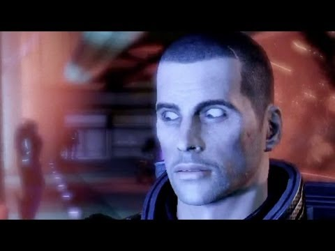 Mass Effect 3: Shepard is kind of a jerk