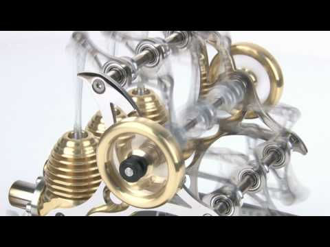 Boehm HB33 Triple Stirling Engine
