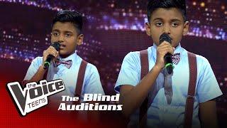 Anuja Perera | Karakena Rode  Blind Auditions | The Voice Teens Sri Lanka