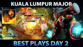 KUALA LUMPUR MAJOR - Best Plays of Day 2 [Group Stage] - Dota 2