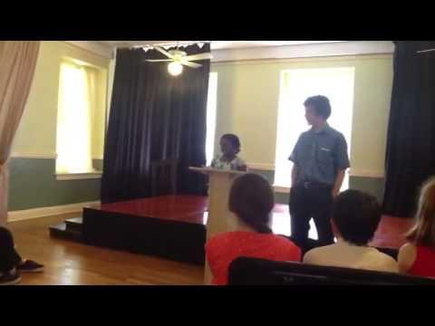 Rose 4th grade award ceremony - Kirby Hall School