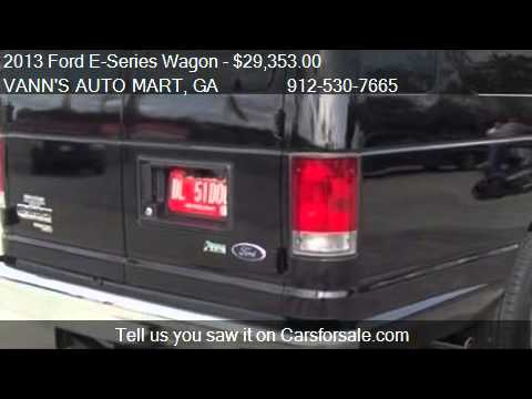 2013 Ford E-Series Wagon  for sale in JESUP, GA 31545 at the