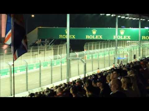 singapour gp f1 2015 course F1 tribune padang