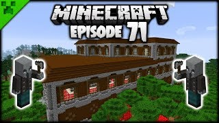 Python VS The WOODLAND MANSION! | Python's World (Minecraft Survival Let's Play) | Episode 71