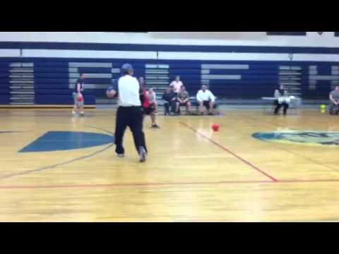 Bonners Ferry High School staff dodgeball game