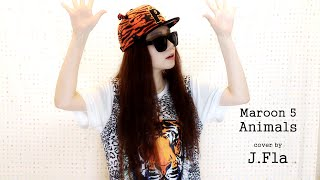 Download Lagu Maroon 5 - Animals ( cover by J.Fla ) Gratis STAFABAND
