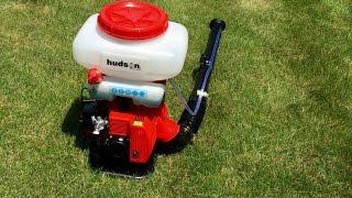 Hudson 18539 3.75 Gallon 2.4 HP 2 Stroke Gas Powered Professional Bak-Pak Power Duster - thumbs down