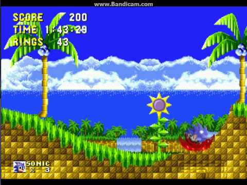 Sonic 1 Megamix (beta 4.0) - RetroGameNinja Plays: Sonic 1 Megamix (beta 4.0) (Sega CD) - User video