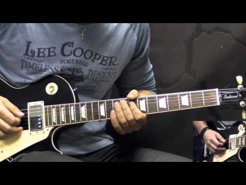 Gary Moore - Oh Pretty Woman - Blues Guitar Lesson Part1 (w/Tabs)