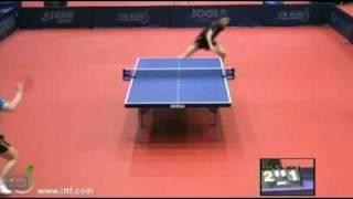 Xu Xin vs Ma Lin[Hungarian Open 2012]
