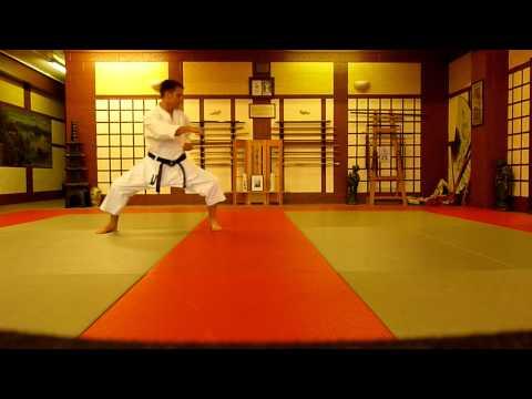 Tekki Shodan Shotokan Karate Kata video