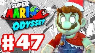 Super Mario Odyssey - Gameplay Walkthrough Part 47 - Zombie Mario! Manga Filter! (Nintendo Switch)