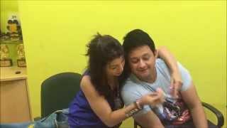 Swapnil Joshi romances with Tejaswini and Sai Tamhankar || Mirchi Studios