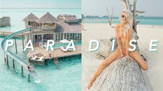 THE MOST AMAZING LUXURY MALDIVES RESORT EVER - MINDBLOWN! | VLOG 79