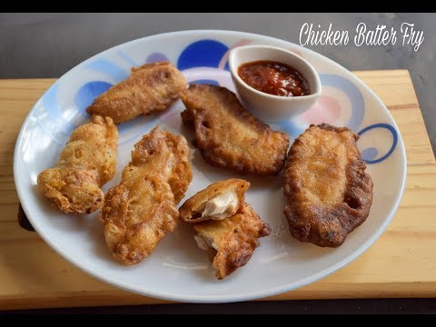 How to make Chicken Batter Fry | Batter Fried Chicken Recipe - English Subtitles
