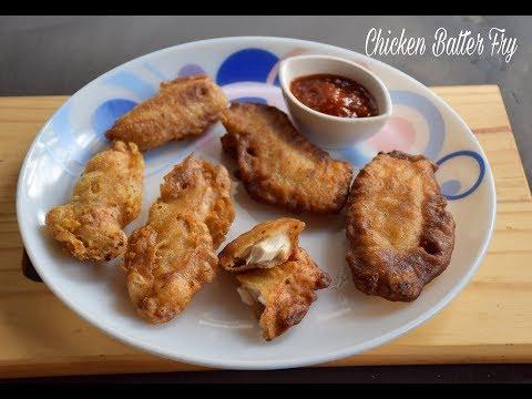 How to make Chicken Batter Fry | Batter Fried Chicken Recipe - English Subtitles