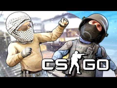 ОШЕЛОМИТЕЛЬНАЯ БИТВА! - CS:GO (Мини-Игры)